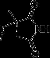 Struktur von Ethosuximid