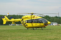 Eurocopter EC 145 (D-HWVS) of ADAC at Góraszka Air Picnic 2005.jpg