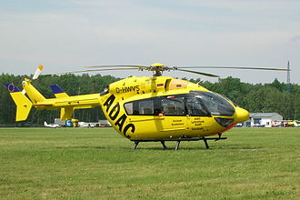 ADAC - A Eurocopter EC 145 (German ADAC air rescue helicopter)