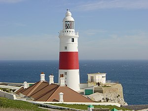 Europa Point Lighthouse - Europa Point Lighthouse at Gibraltar