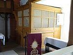 Evangelische Kirche Trais-Horloff Pfarrstuhl 01.JPG