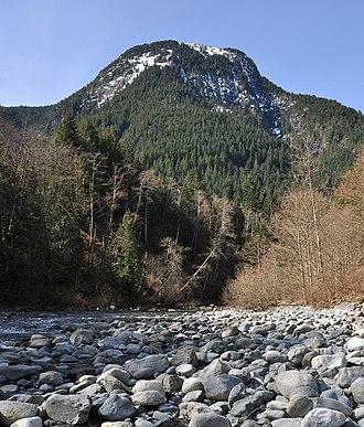 Deforestation in British Columbia - Evan's Peak, British Columbia
