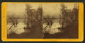 Evening view, southern shore Donner Lake, Central Pacific Railroad, by Thomas Houseworth & Co..png