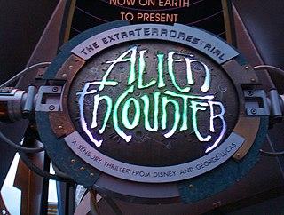 ExtraTERRORestrial Alien Encounter Former attraction at Magic Kingdom in Walt Disney World