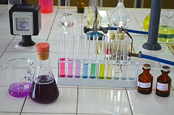 Extract of red cabbage in the beacker (pH indicator).jpg