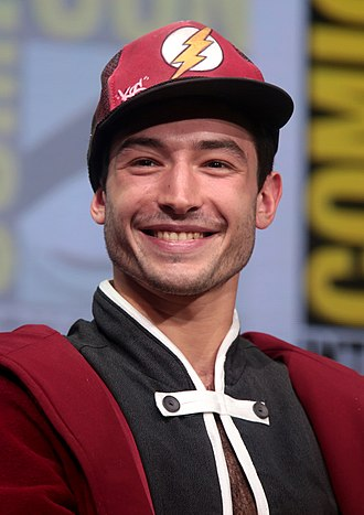 Ezra Miller - Miller at the 2017 San Diego Comic-Con