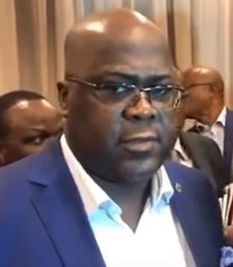 President of the Democratic Republic of the Congo - Image: Félix Tshisekedi (september 2018)