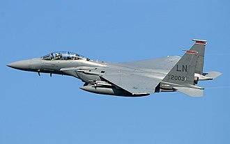 McDonnell Douglas F-15E Strike Eagle - USAF F-15E of 494th Fighter Squadron stationed at RAF Lakenheath