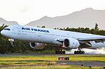 F-GSQT - B77W - Air France - TFFF - Landing (23897156955).jpg