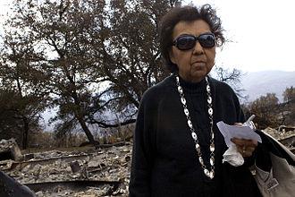 La Jolla Band of Luiseno Indians - Viola Peck, La Jolla tribal elder, 2007