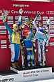 FIS Ski Cross World Cup 2015 Finals - Megève - 20150314 - Andrea Limbacher, Anna Holmlund et Ophélie David.jpg