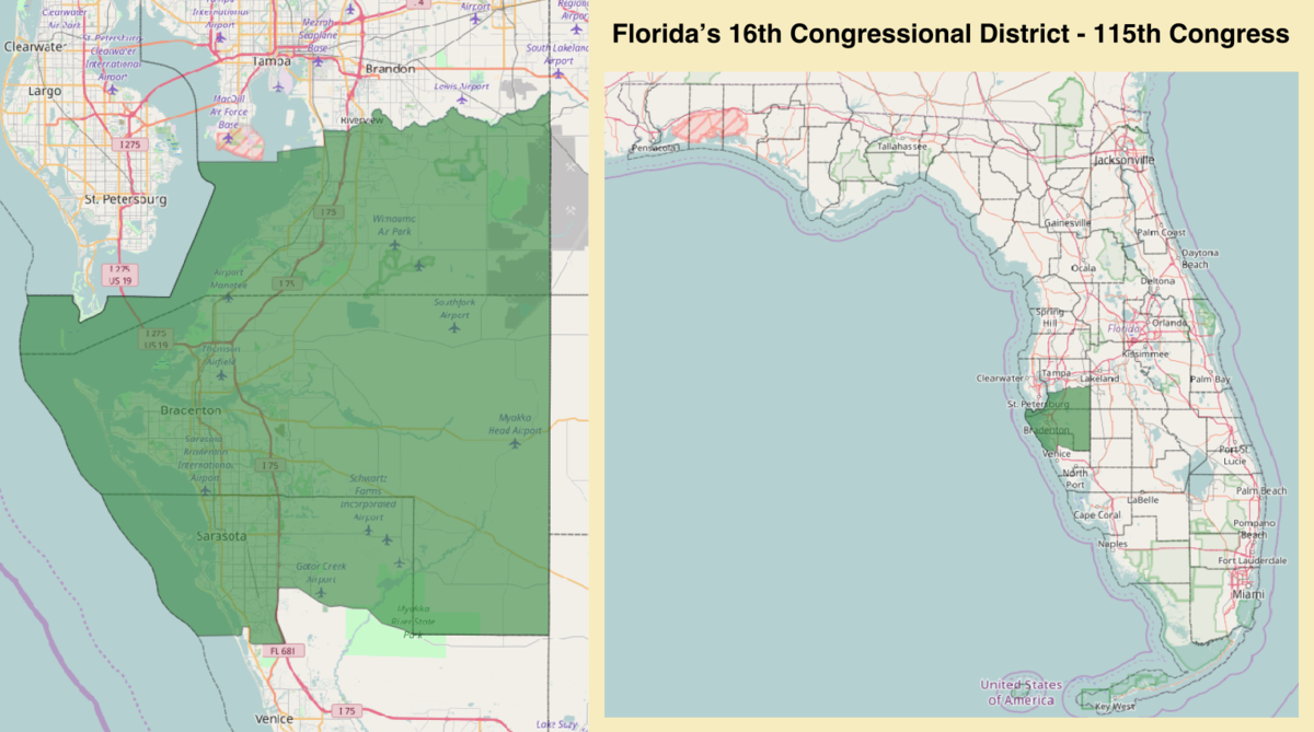 Floridas 16th congressional district Wikipedia