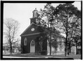 FRONT ELEVATION - WEST - First Presbyterian Church, East Fourth and North Broad Streets, Tuscumbia, Colbert County, AL HABS ALA,17-TUSM,2-1.tif