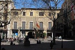 Façana Institut Agricola Catala de Sant Isidre. Palau Fivaller.JPG