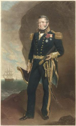 Fairfax Moresby - Sir Fairfax Moresby