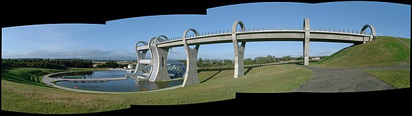 Falkirk Wheel panoramic01 2002-08-31.jpg