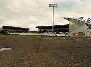 Falkirk Stadium - The three stands of the stadium