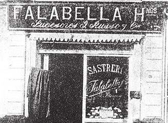 Falabella (retail store) - Image: Fallabela inicios siglo XX