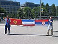 Fans of Montenegro and Serbia, 2006 WC.jpg