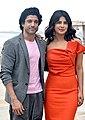 Farhan Akhtar and Priyanka Chopra promoting The Sky Is Pink.jpg