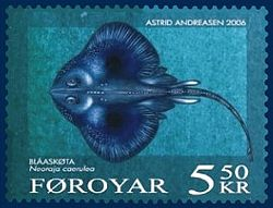 Faroese stamp 542 blue ray.jpg
