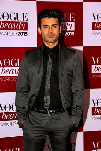 Fawad Khan - Khan at the Vogue Beauty Awards where he won the Most Beautiful Man of 2014.