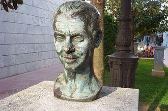 Federico García Lorca - Bust of Federico García Lorca in Santoña, Cantabria