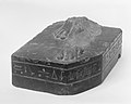 Feet from statue of Musician of Amun Tasheritkhonsu MET 158958.jpg
