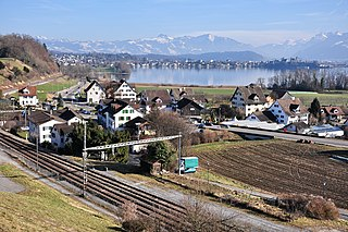 village in the canton of Zürich, Switzerland