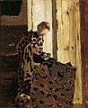 Femme brossant un vêtement (Femme à la fenêtre) 2002 NYR 01147 0025 .jpg