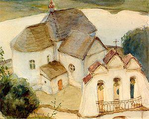 Die Kirche in Wiszniewo