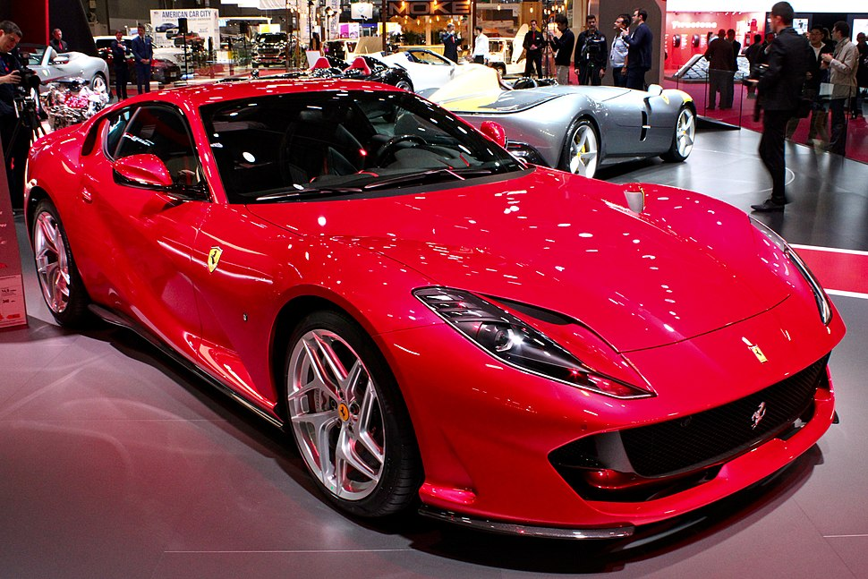 Ferrari 812 Superfast, Paris Motor Show 2018, IMG 0650