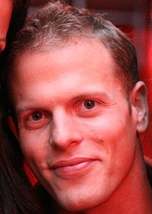 Tim Ferriss at a party hosted by him.