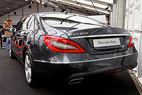 Festival automobile international 2011 - Mercedes CLS 350 - 03.jpg