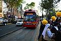 Fieles esperando al Papa Francisco fuera de la Nunciatura Apostólica de la Ciudad de México 07.JPG