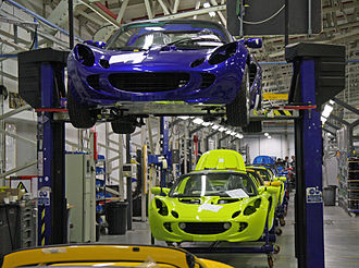 Lotus Cars - Lotus final assembly