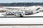 Finnair (Marimekko Unikko-Poppy livery), OH-LQD, Airbus A340-313 (24726025104).jpg