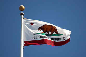 Californio - The California state flag flying at San Francisco City Hall