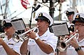 Flickr - Official U.S. Navy Imagery - A trumpet instrumentalist with the U.S. Navy Ceremonial Band, performs during the opening ceremony of the Star Spangled Sailabration at Baltimore's Inner Harbor during Baltimore Navy Week 2012..jpg