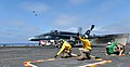 Flickr - Official U.S. Navy Imagery - An aircraft prepares to launch from the aircraft carrier USS Nimitz..jpg