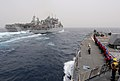 Flickr - Official U.S. Navy Imagery - USS Truxtun Sailors stand by as the ship approaches USNS Alan Shepard.jpg