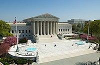 El edificio de la Corte Suprema