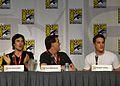 Flickr - vagueonthehow - Ian Somerhalder, Kevin Williamson ^ Michael Trevino (4).jpg