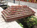 Flower box on East Street, Old Town of Lijiang.JPG