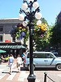 Flowers and Street Lights in Gastown, Vancouver - panoramio.jpg