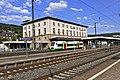Flug -Nordholz-Hammelburg 2015 by-RaBoe 1224 - Bahnhof Gemünden, Unterfrankenshuttle.jpg