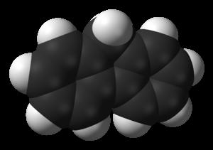 Fluorene - Image: Fluorene 3D vd W