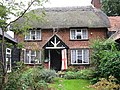 Flying the flag at Burley Garage Cottage - geograph.org.uk - 1500034.jpg