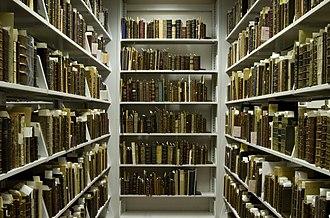 Folger Shakespeare Library - Rare books stored in the Folger's Vault