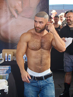 François Sagat - François Sagat at the Folsom Street Fair in 2009